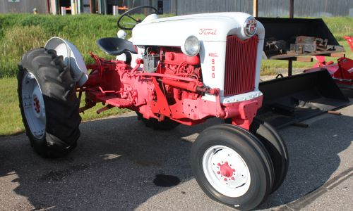 ford 900 tractor
